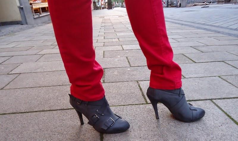 boty na podpatku second hand