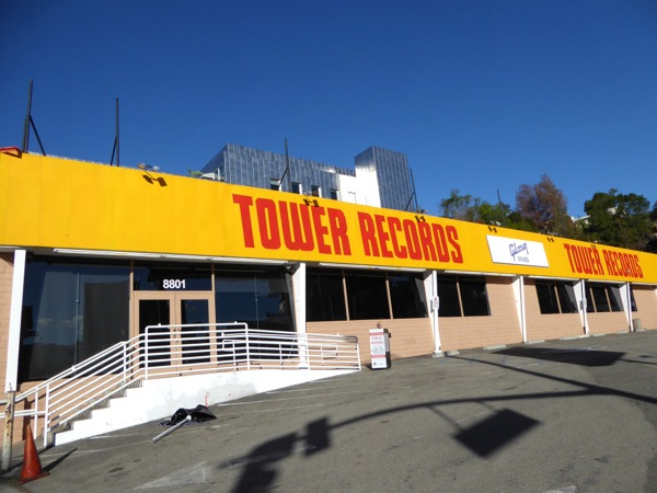 Fake Tower Records Sunset Strip