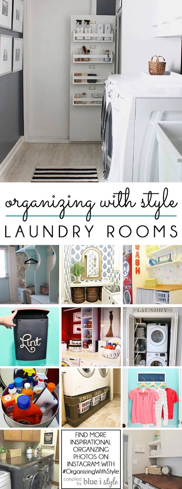 valuable inspiration laundry organization. Laundry Room Organization organizing with style  12 Ways to Organize the Blue i