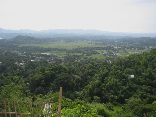 The beautiful view of Rizal and Antipolo at the top.
