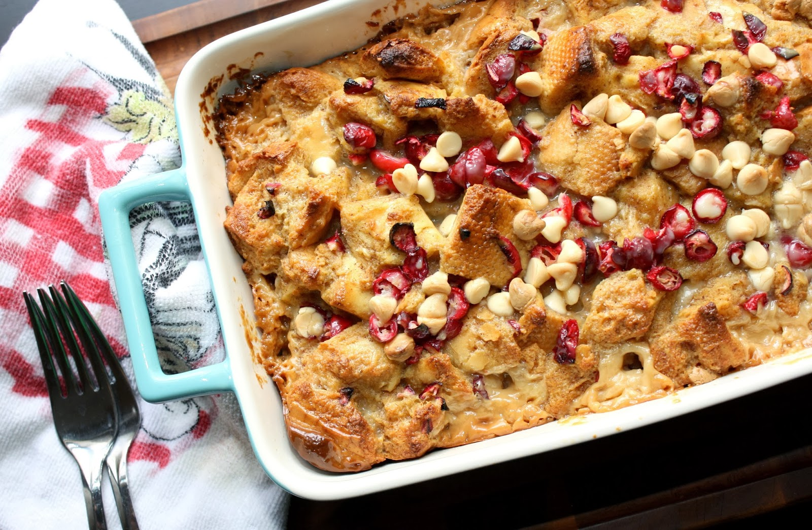 The Bitchin' Kitchin': Baked Eggnog French Toast with Cranberries and...