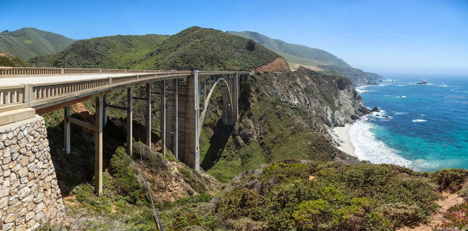 Bixby Canyon Bridge....