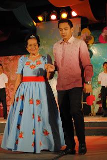 Santacruzan, Davao City, SM Davao, Sagala