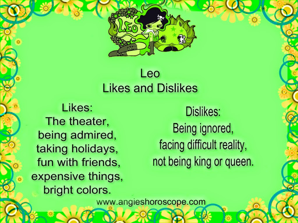 leo dislikes and likes in a relationship