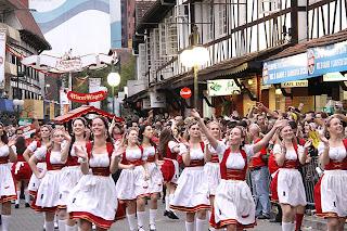 desfied das bandas tipicas alemãs