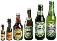 Bouteilles Heineken