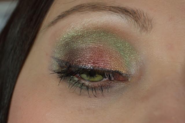 herbstliches Make-up