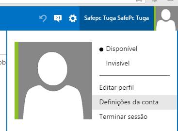 Como eliminar a sua conta Outlook.com
