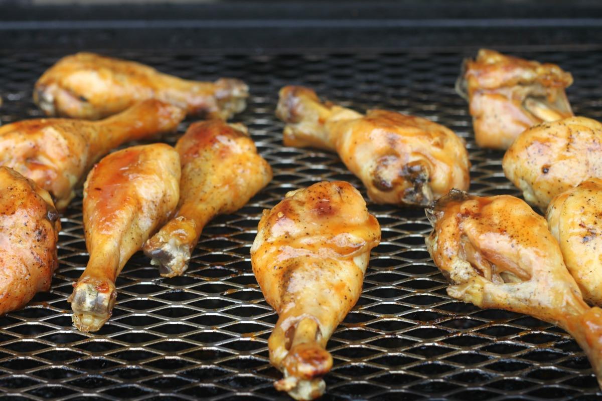 citrus glazed chicken 16 chicken legs salt pepper glaze 2
