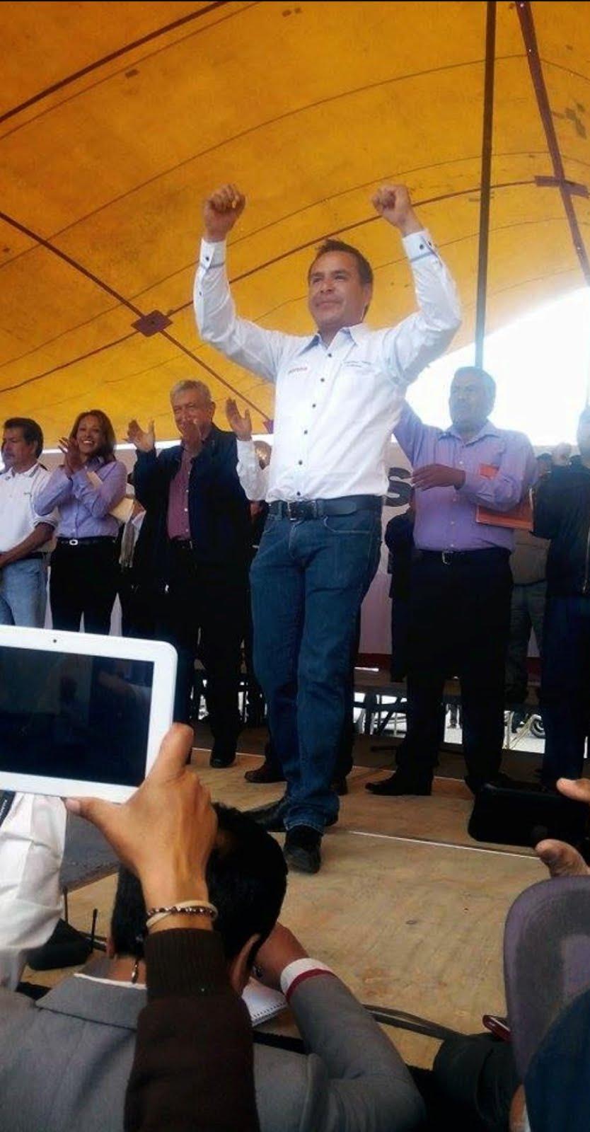 Paco Tenorio dice que la gente está «hasta la madre» en Valle de Chalco