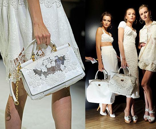 Белая сумка dolce lt gabbana мисс сицилия платья москино 2016