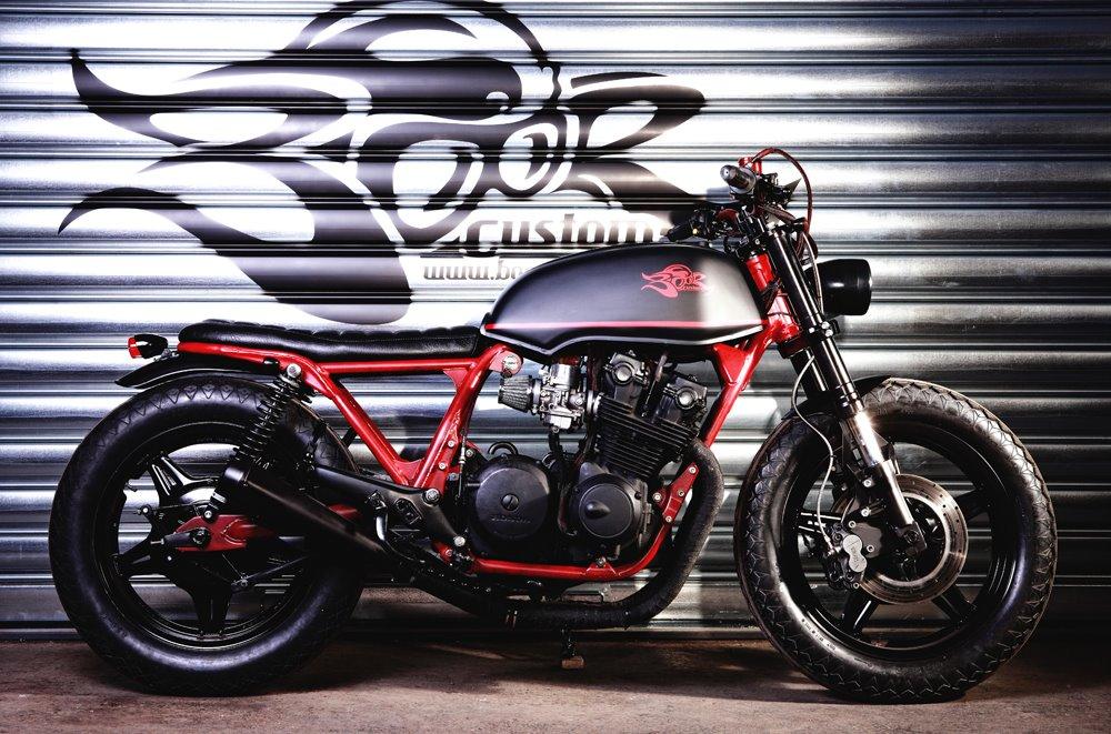 Racing Caf       Honda       CB 750       KZ     Beast  by Boor Custom