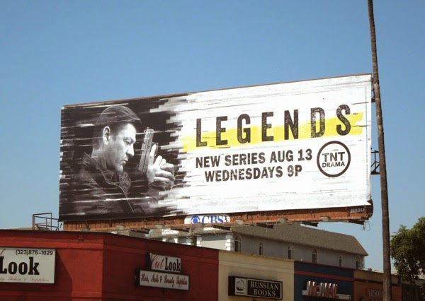 Sean Bean Legends season 1 billboard