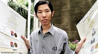 Hebat! Pria Makassar Ini Raih 19 Gelar Sarjana Dalam 13 Tahun