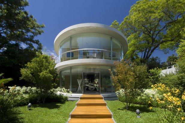 Эллипс — дом-офис в Буэнос Айресе, Аргентина