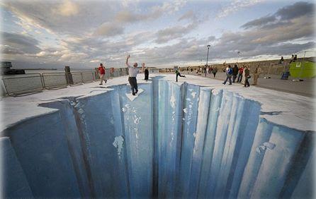 Street painting 3d Video pintura 3d