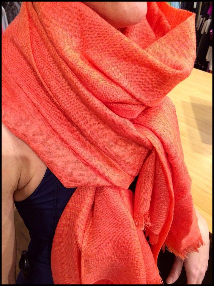 lululemon mudra scarf