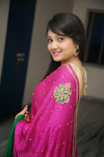 Priyanka Gorgeous Photos in Saree-thumbnail-15