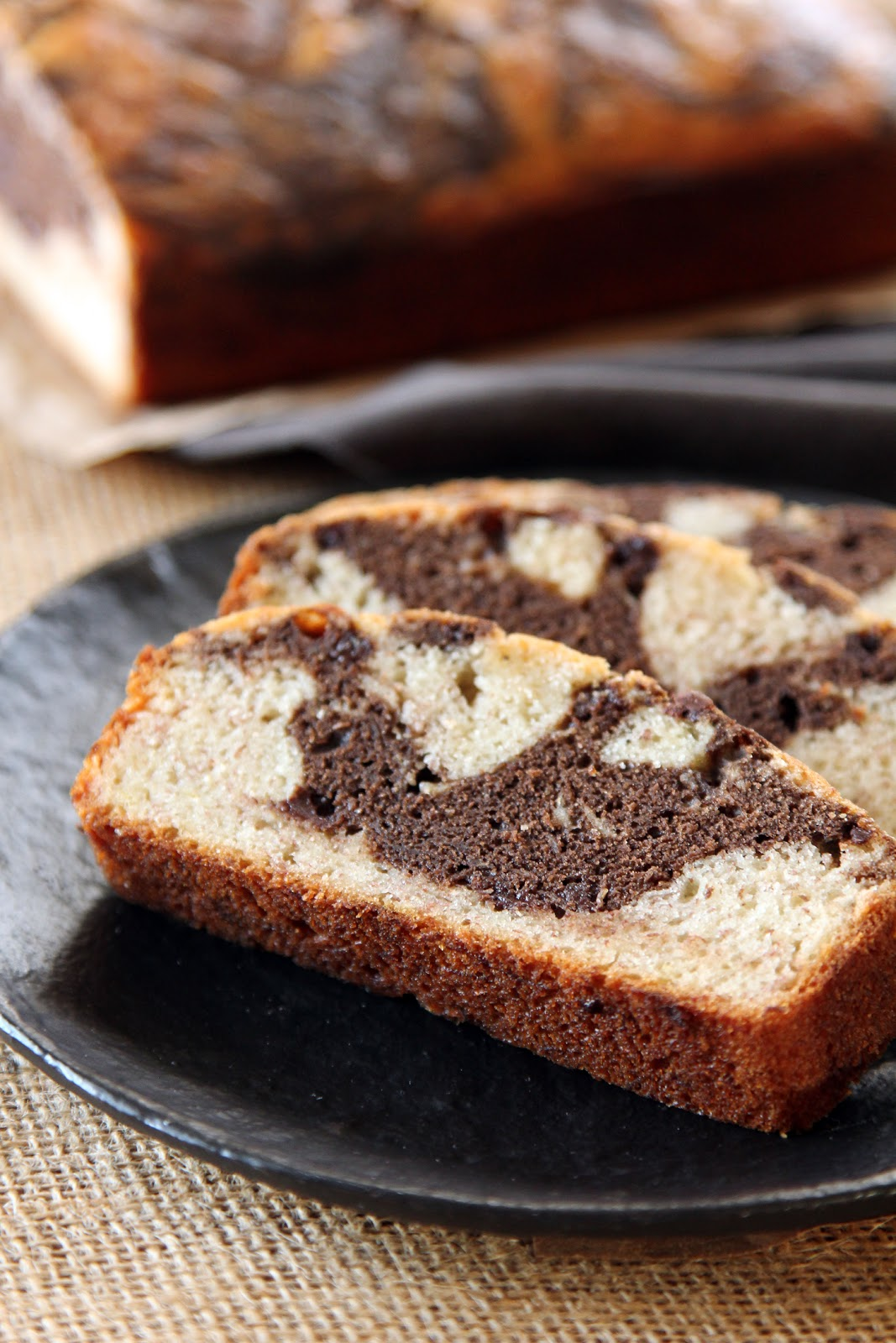 Life Made Simple: Marbled Banana Chocolate Chip Bread