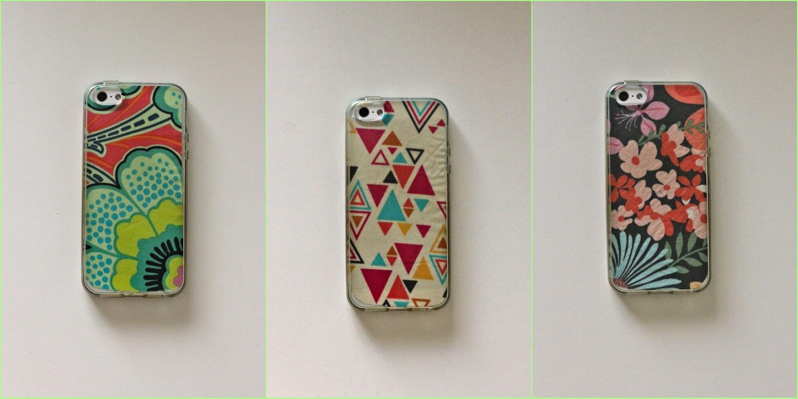Oh sweet joy handmade monday diy fabric iphone case for Homemade iphone case