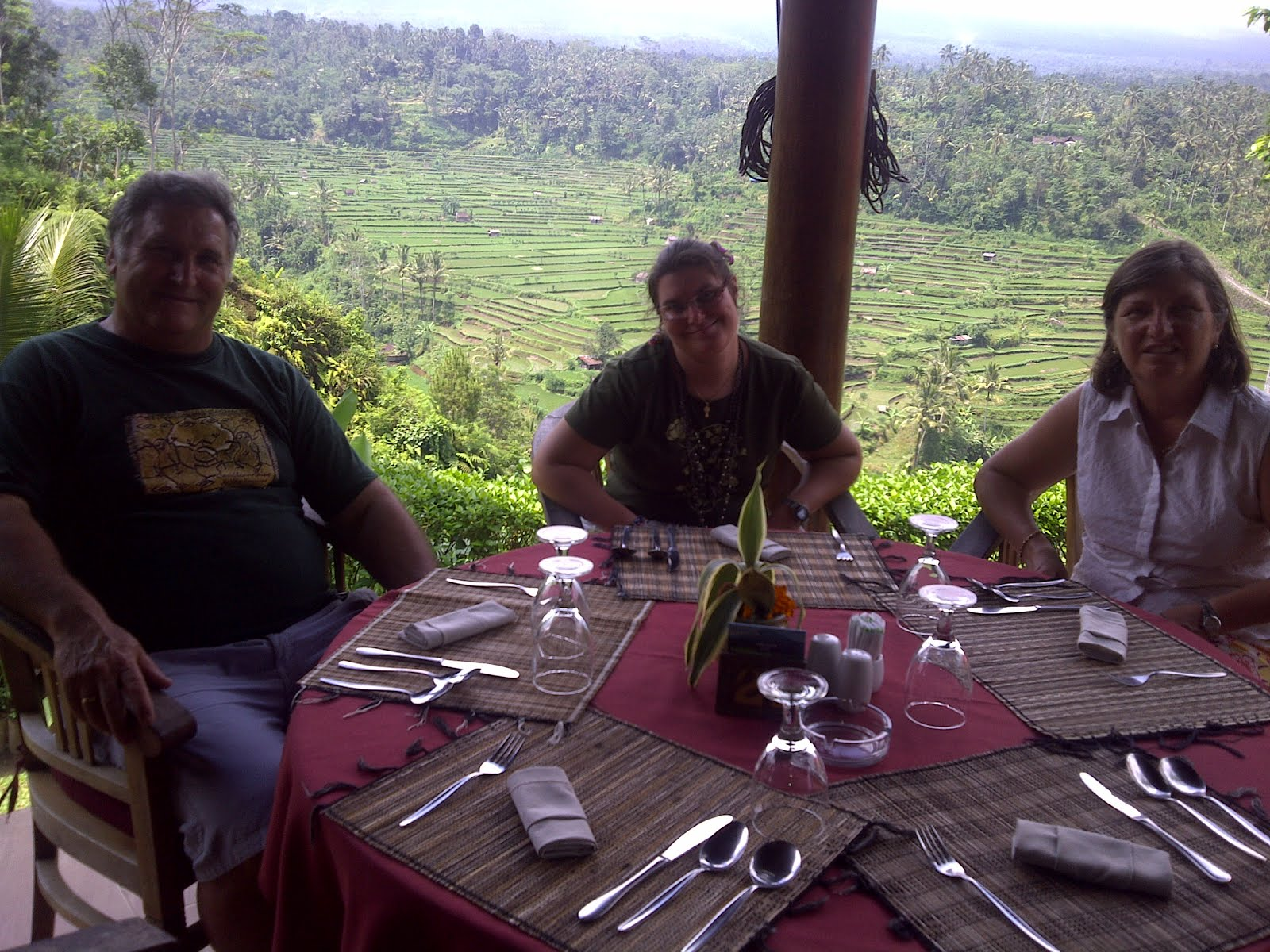 restaurante Mahagiri,arrozales de Jatiluwih, Bali, vuelta al mundo, round the world, La vuelta al mundo de Asun y Ricardo