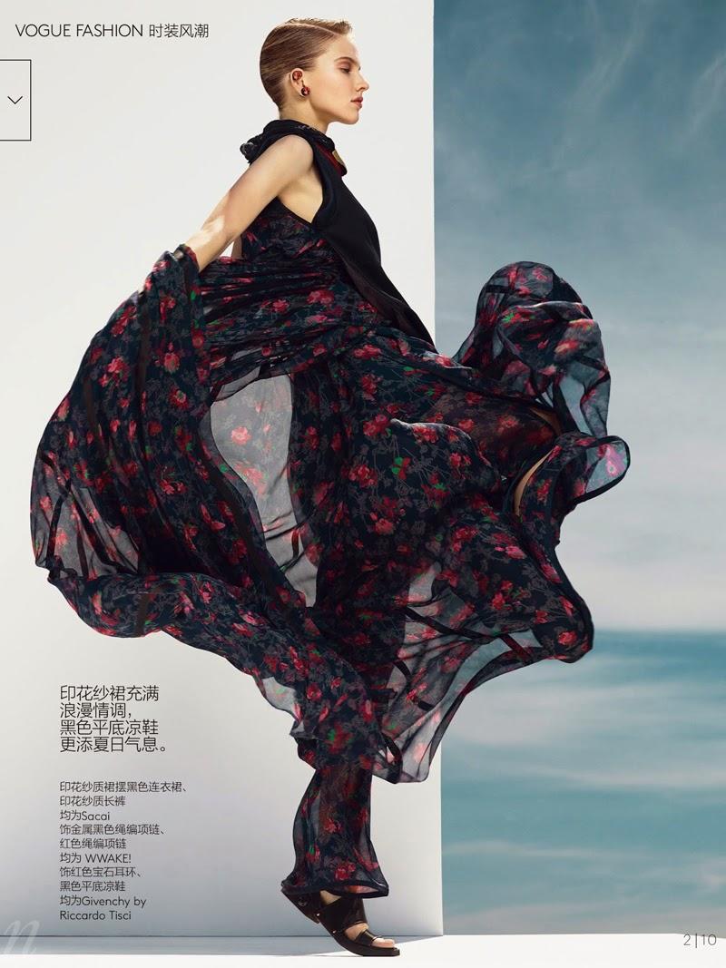 Editorial Full Volume de Nathaniel Goldberg para Vogue China