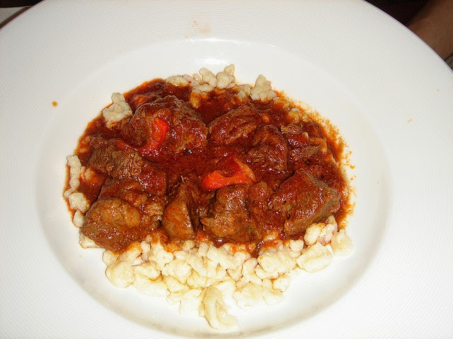 Hungarian Goulash - The Senseless Houswife