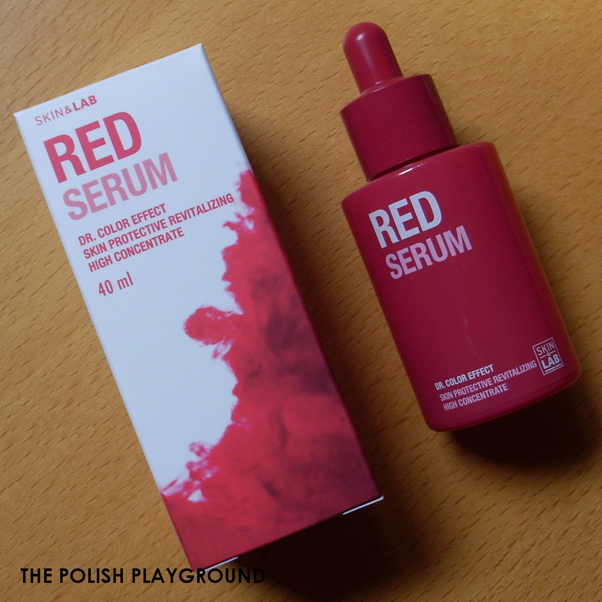 SKIN&LAB Dr. Color Effect Red Serum Review - Wishtrend