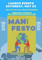 Covid-19 Global Solidarity Manifesto COVID-19 世界連帯マニフェスト