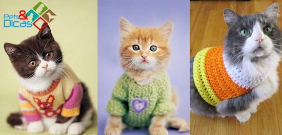 Moldes de roupas para gatos