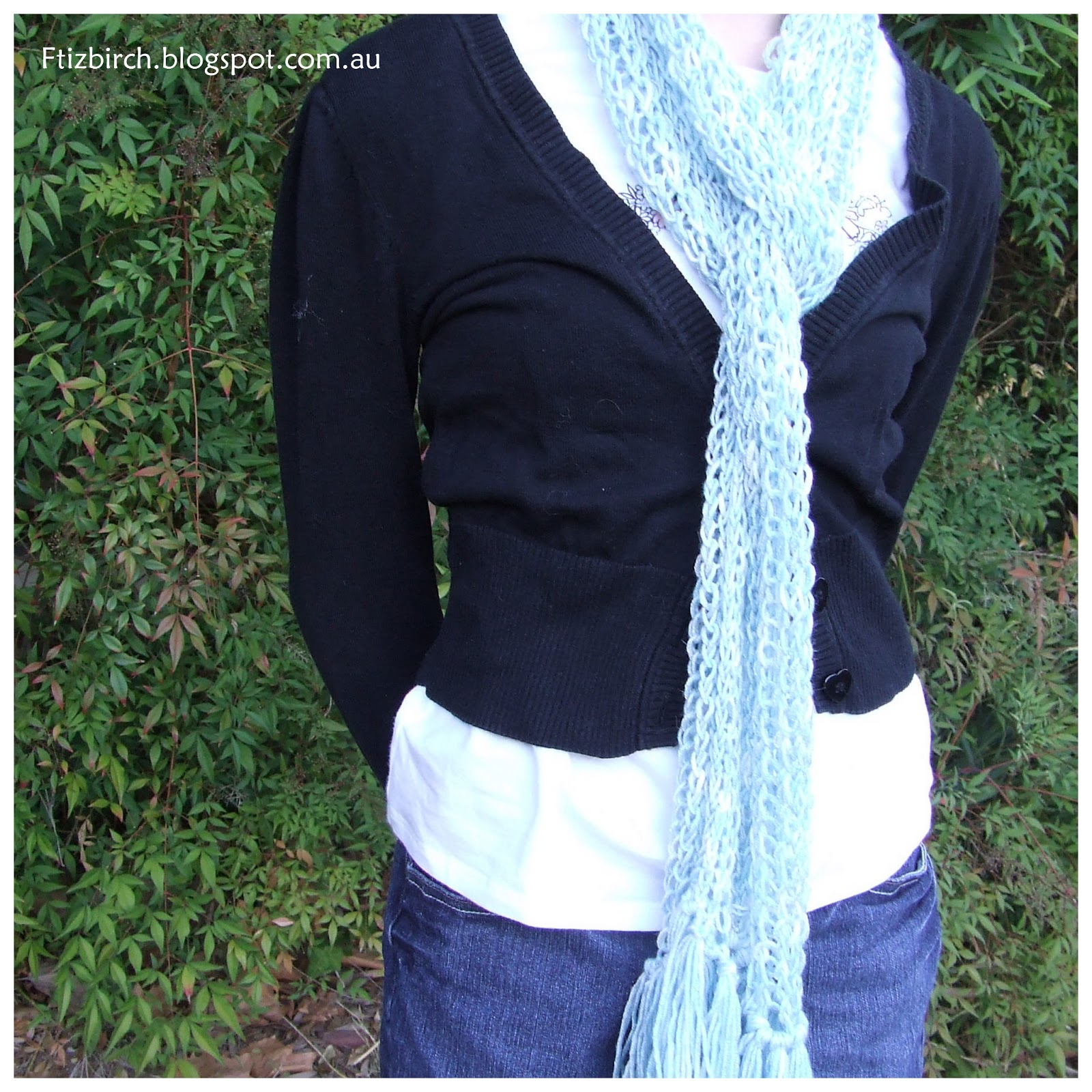 Knitting A Scarf Quickly : Fitzbirch crafts quick loom knit scarf