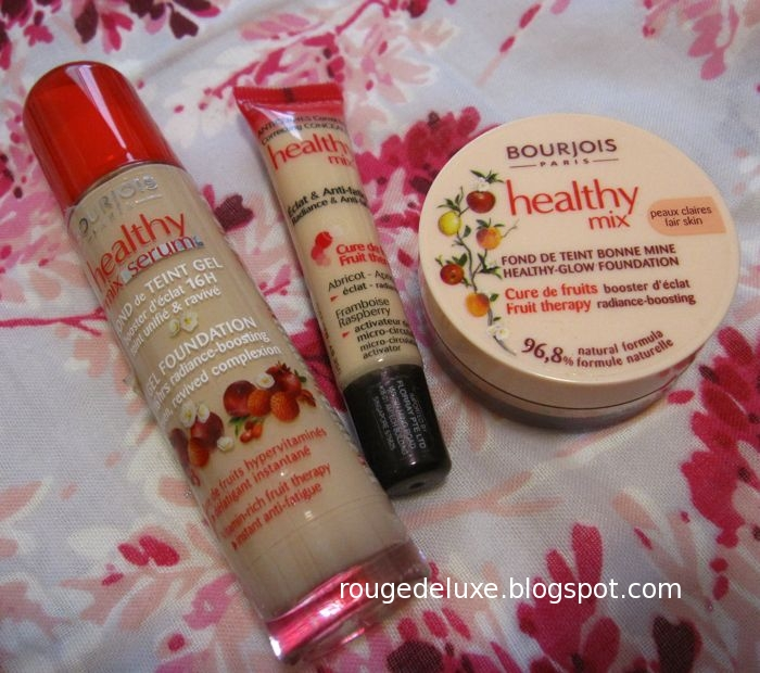 rouge deluxe bourjois healthy mix serum gel foundation. Black Bedroom Furniture Sets. Home Design Ideas