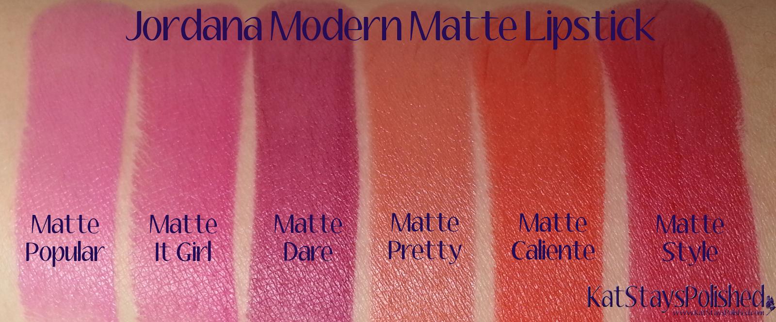 Jordana Modern Matte Lipstick | Kat Stays Polished