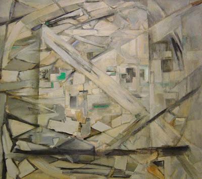 El Aleph Óleo sobre tela 175 x 200 cms 1993-1994 (Colección Galería Ascaso)