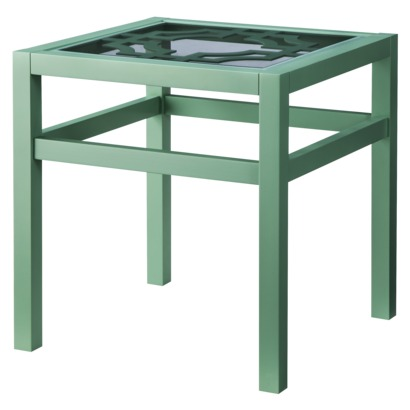 TARGET THRESHOLD LATTICE TOP ACCENT TABLE