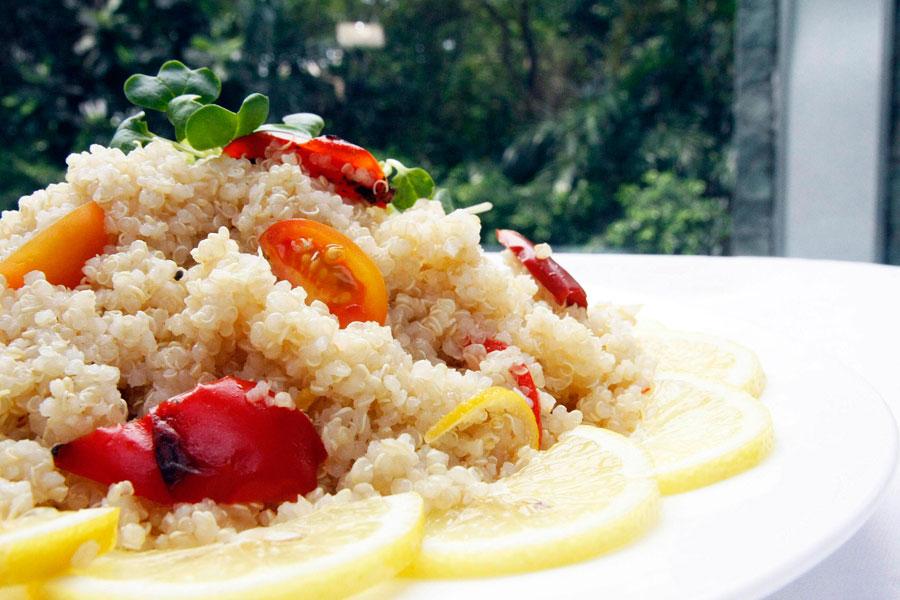 Makati Shangri-La's Circles Event Café Quinoa Salad