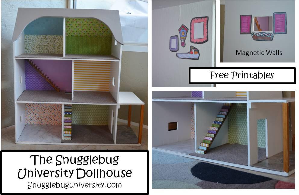 Snugglebug University Dollhouse Remodel
