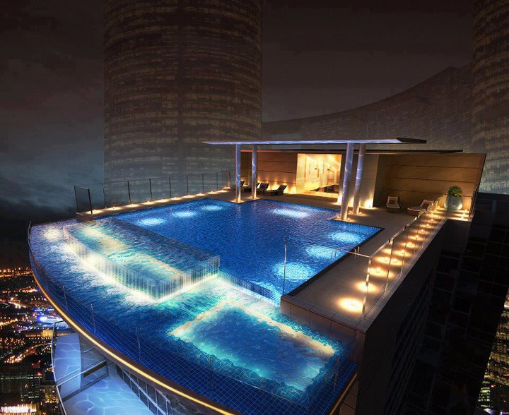 Las fotos mas alucinantes atico con piscina for Piscinas en aticos