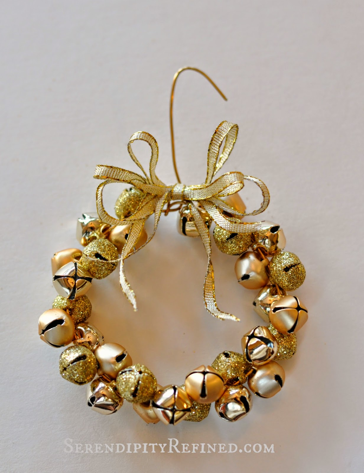 Jingle bell ornaments - Directions