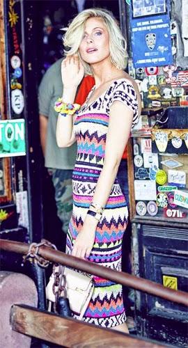 Vanessa Montoro coleção feminina verão 2015 vestido de crochê longo