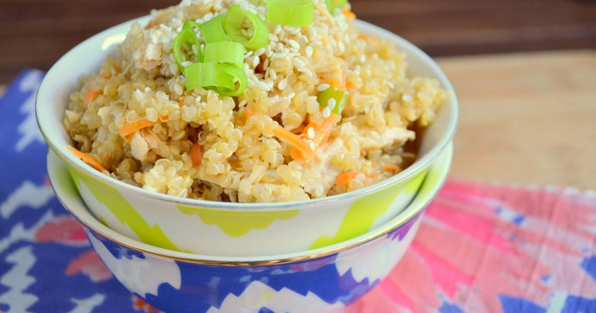 K&K Test Kitchen: Sesame Quinoa and Chicken Salad