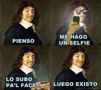 Me hago una selfie