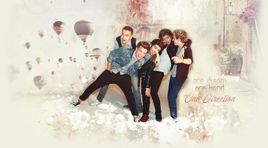 [zamknięte] Imaginy o One Direction.