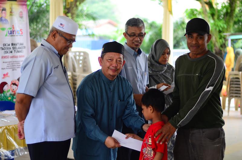 YB Dr Abd Rani bin Osman telah merasmikan dan menyampaikan Skim