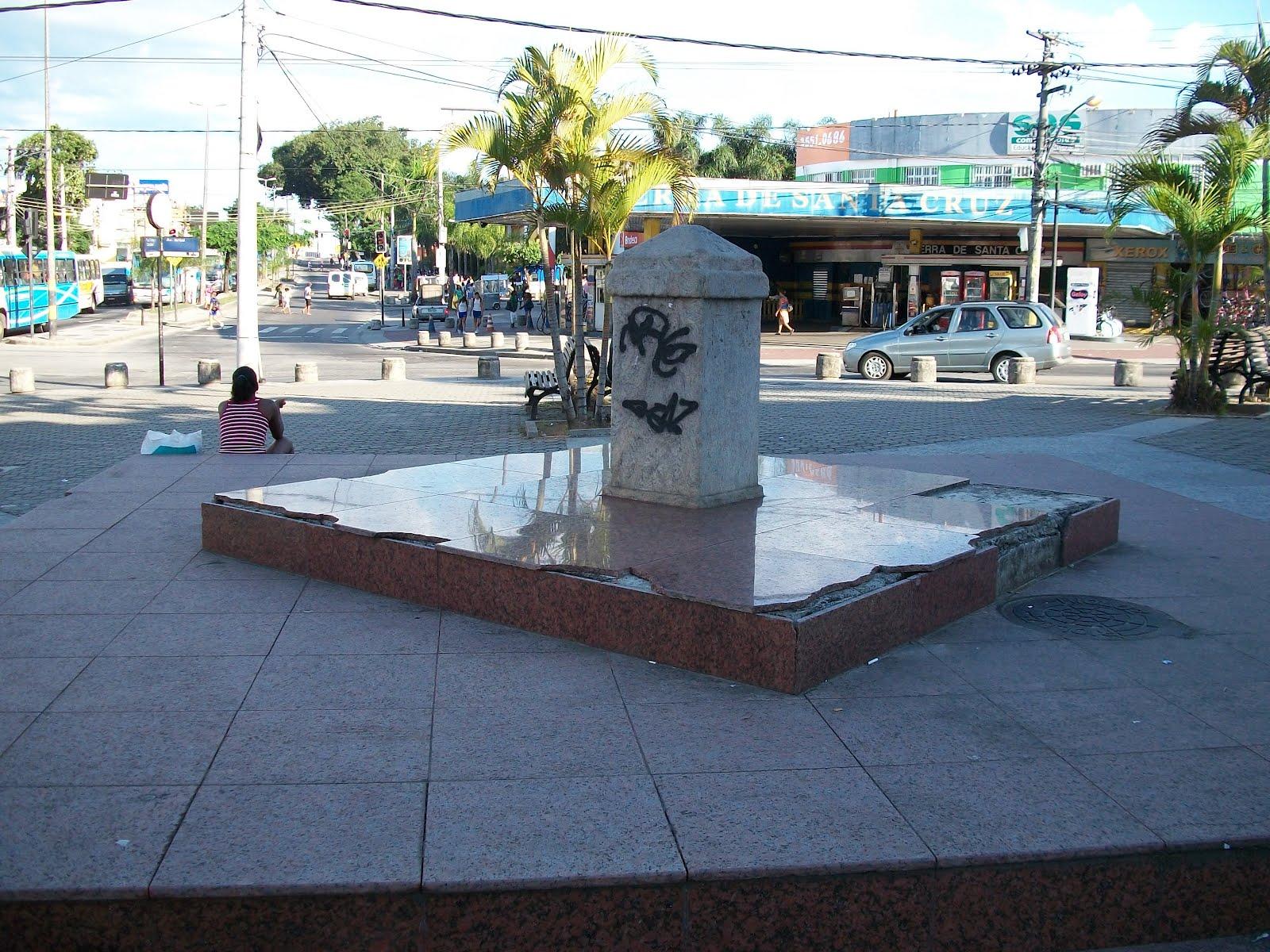O Bom do Rio: Marcos Imperiais da Avenida Santa Cruz - Marco11 ...