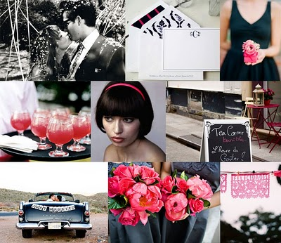 pink and blackyes you can do black at a wedding