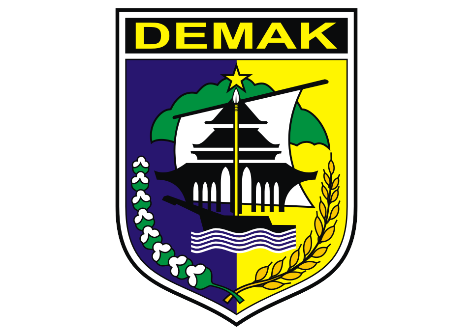 Kabupaten Demak Logo Vector download free