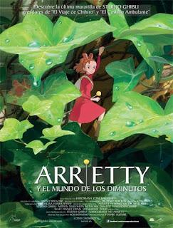 Ver Arrietty y el mundo de los diminutos (2011) Online