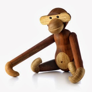 joguina de fusta Monkey de Kay Bojesen