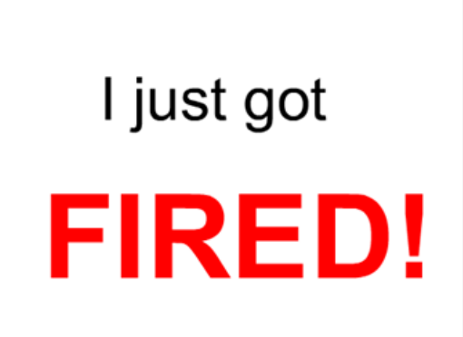 Career Advice for the Newly Fired